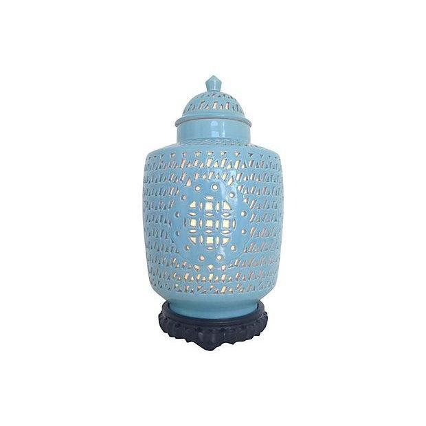 1950s Blanc De Chine Jar Lamp - Image 2 of 10