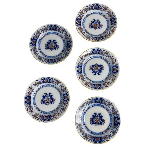 Minton Antique Minton Imari Plates - Set of 5 For Sale - Image 4 of 4