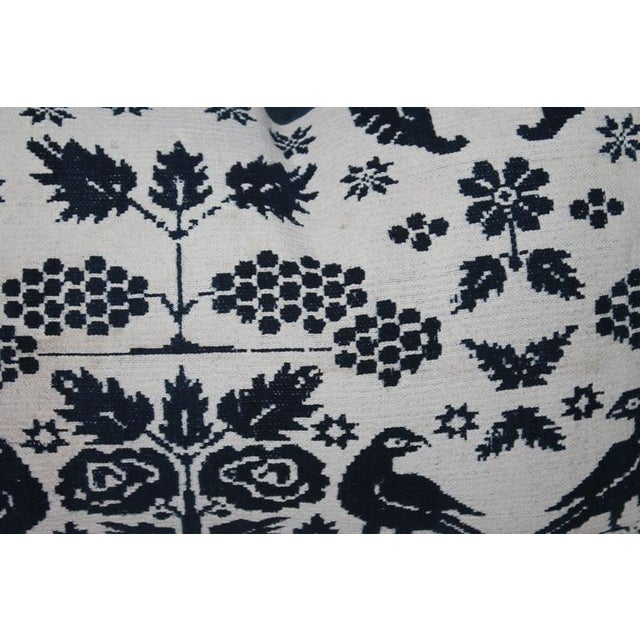 Pair of 19th Century Lancaster Co. Coverlet Pillows - Image 6 of 7