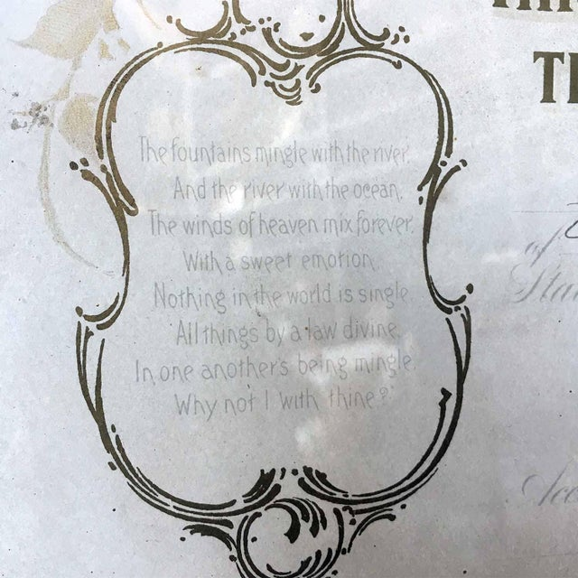 1900's Marriage Certificate - Image 8 of 9