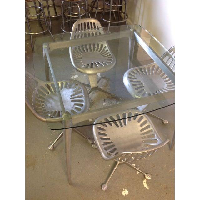Azcast Aluminum Dining Set For Sale - Image 5 of 6