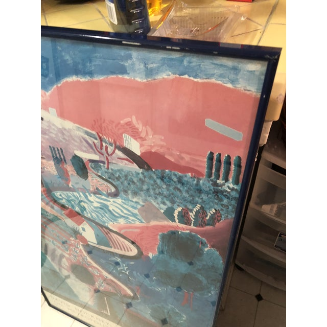 Rustic David Hockney: A Retrospective Met Exhibit Poster For Sale - Image 3 of 6