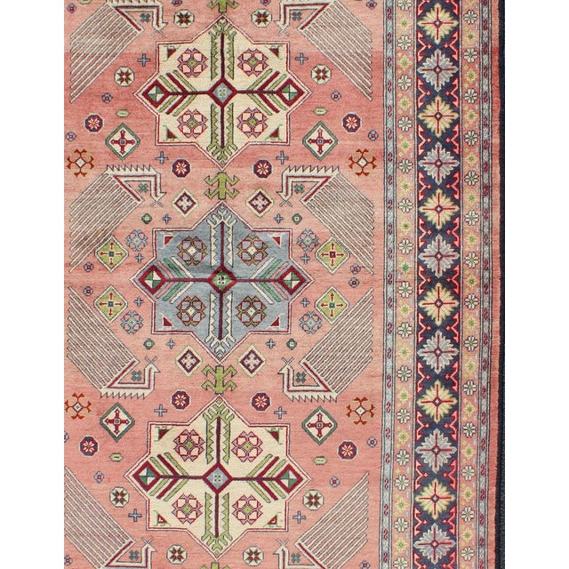 1950s Semi Antique Afshar Rug - 4′ × 6′ For Sale - Image 4 of 12