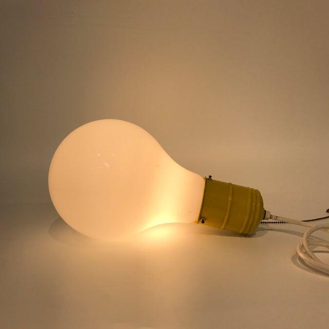 Pop Art Lightbulb Lamp - Image 5 of 5