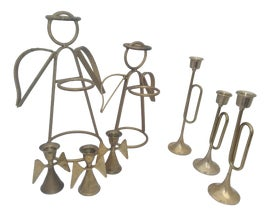Image of Den Floor Candle Stands