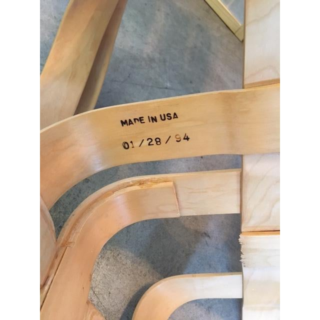 Frank Gehry for Knoll Modern Cross Check Chair For Sale - Image 11 of 11