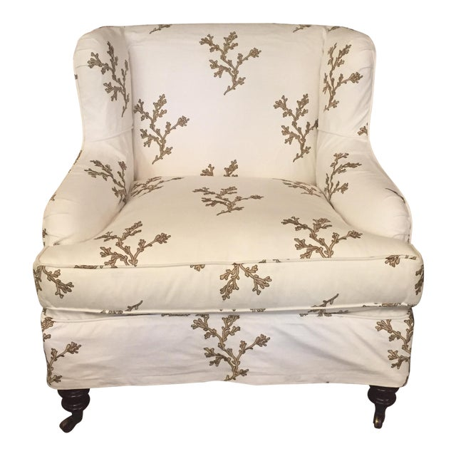 Barclay Butera Taylor Wing Chair - Image 1 of 11