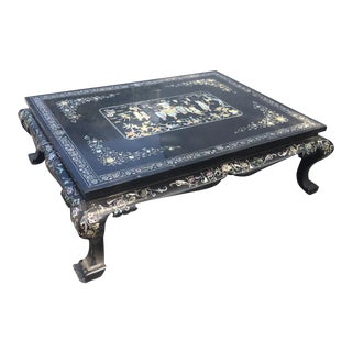 Chinoiserie Lacquered Coffee Table