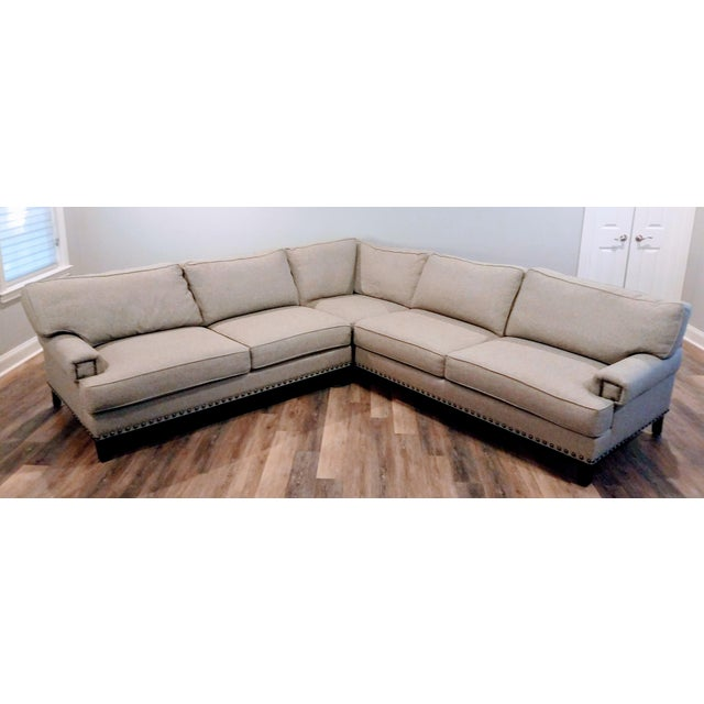 Paladin Industries, Inc. Sectional Sofa