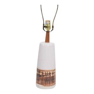Mid-Century Gordon Martz Ceramic Table Lamp For Sale