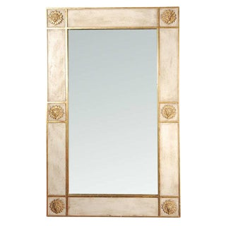 1980s Sun Faces Wall Mirror For Sale
