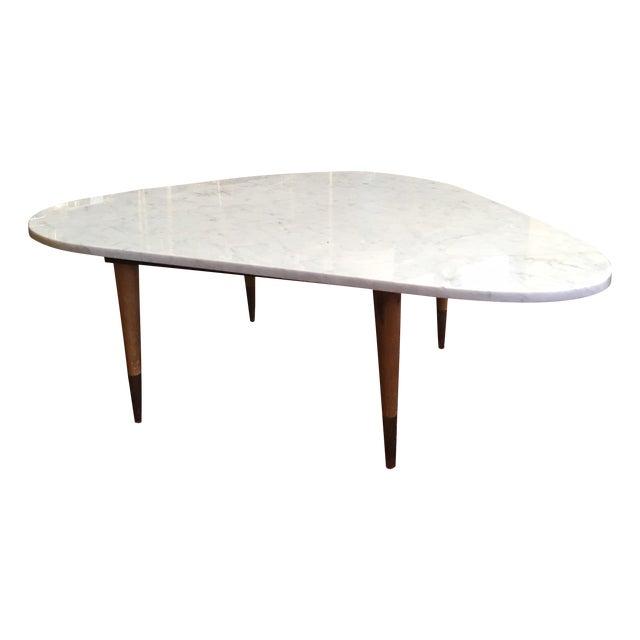 Mid Century Italian Marble Coffee Table - Image 1 of 7