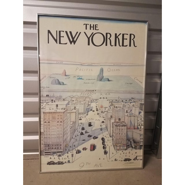 Contemporary The New Yorker Saul Steinberg Art Print For Sale - Image 3 of 8