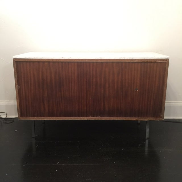 Florence Knoll Bianco Marble Top Credenza - Image 8 of 11