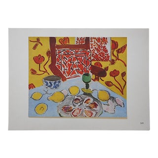 Vintage Ltd. Ed. Modernist Lithograph-Henri Matisse- c.1950-Folio Size For Sale