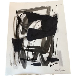 Joe Adams Works on Paper Modern Abstract For Sale