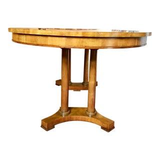 1960s Mid-Century Modern Baker Pedestal Dining Table
