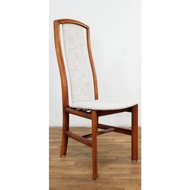 White Mid-Century Danish Dining Chairs- Set of 12 For Sale - Image 8 of 12