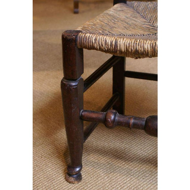 English Traditional 18th Century English Oak Chair For Sale - Image 3 of 7