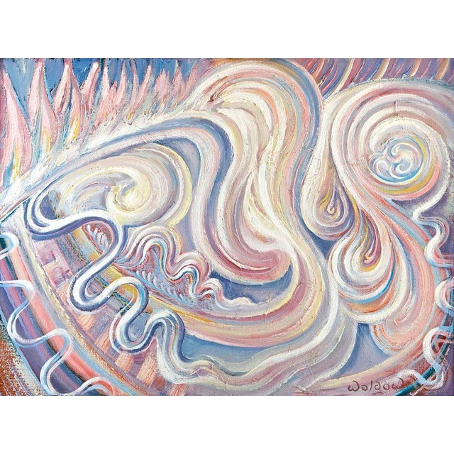 Oil Painting by Harry Waldow For Sale In Los Angeles - Image 6 of 6