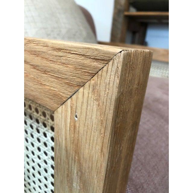 Custom Cane Armchair - Image 7 of 10