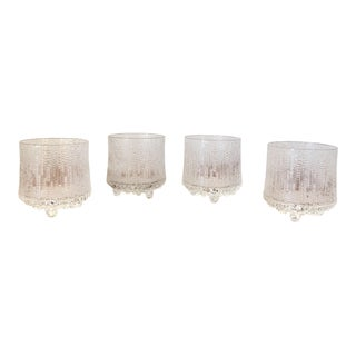 20th Century Scandinavian Tapio Wirkkala Glasses - Set of 4 For Sale