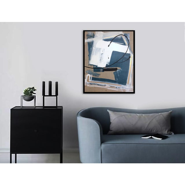 'GEHRY' original abstract painting by Linnea Heide - Image 5 of 8