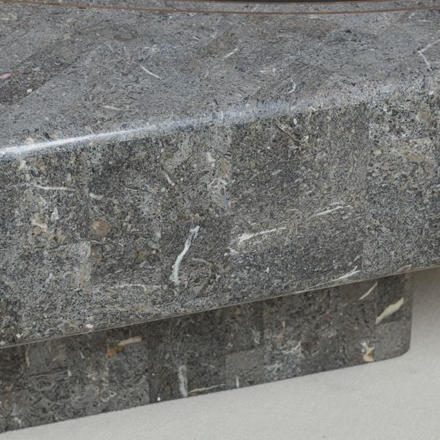 1980s A Tessellated Stone Coffee Table by Maitland Smith 1980s For Sale - Image 5 of 8