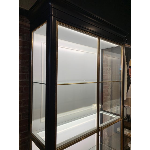 Sarreid Ltd. Fenwick Etagere Lighted Cabinet For Sale - Image 4 of 12