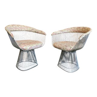 Vintage Warren Platner for Knoll Mid-Century Chairs - a Pair For Sale