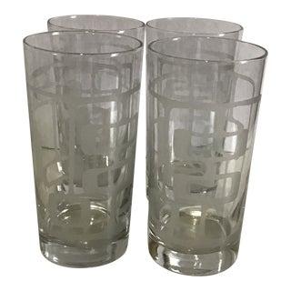 Modern Angela Adams Glassware - Set of 4 For Sale