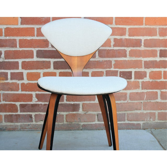 Gray 1950s Vintage Norman Cherner for Plycraft Molded Plywood Dining Chairs- Set of 6 For Sale - Image 8 of 13