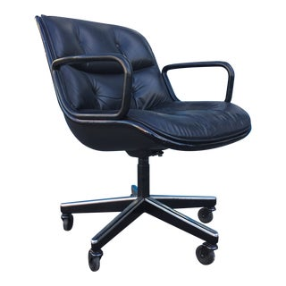Mid Century Charles Pollock Office Chair For Sale