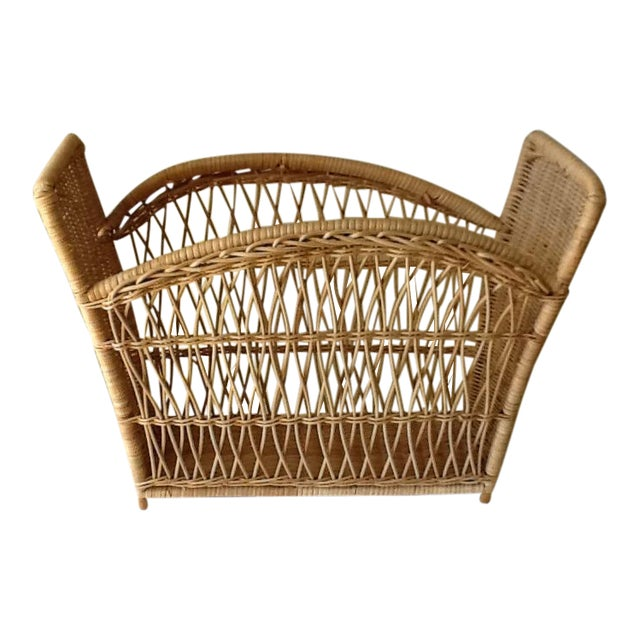 Natural Wicker File Basket - Image 1 of 8