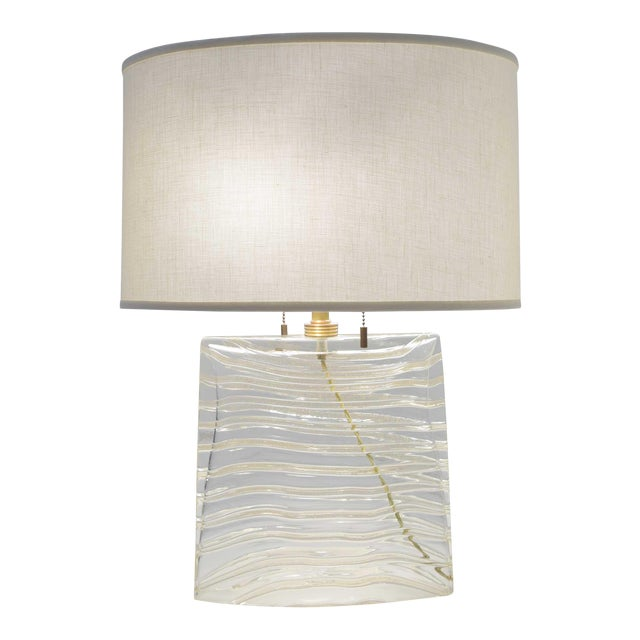 Vela Venetian Glass Lamp by Donghia For Sale
