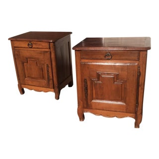 French Country Nightstands - A Pair
