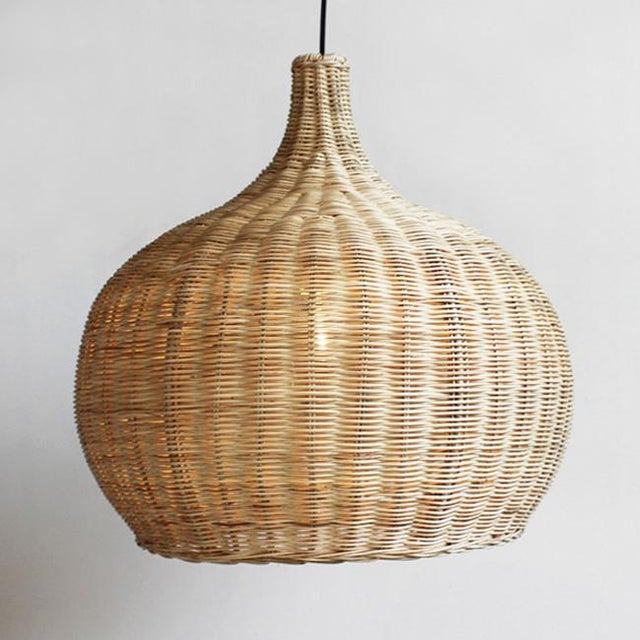 Up for sale is this beautiful hand weaved raw wicker lantern. For indoor use or outdoor in covered area.