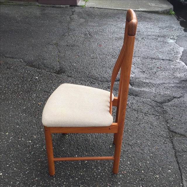 Teak Chairs by Benny Linden - Set of 6 - Image 5 of 11