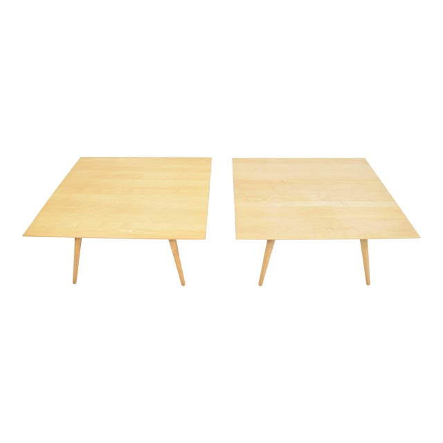 Paul McCobb Planner Group Maple Coffee Tables - a Pair For Sale