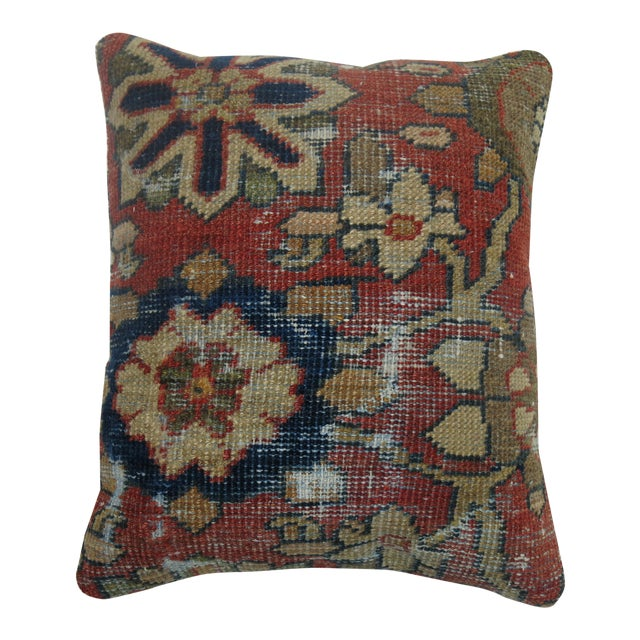 Shabby Chic Mahal Rug Pillow For Sale