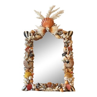 Seashell Wall Mirror For Sale