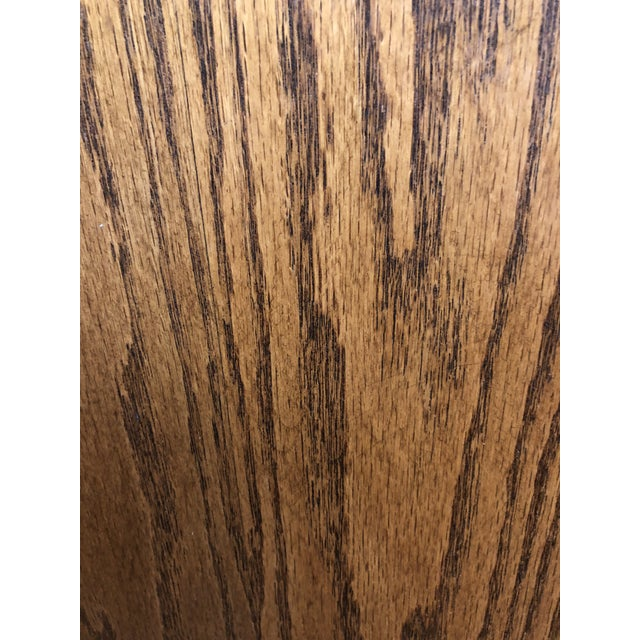 Converted Oak Armoire For Sale - Image 11 of 12