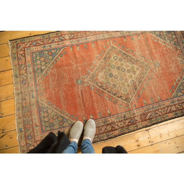 "Antique Fereghan Rug - 3'7"" X 6'1"" - Image 2 of 8"