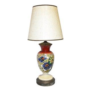Painted Bristol Lamp