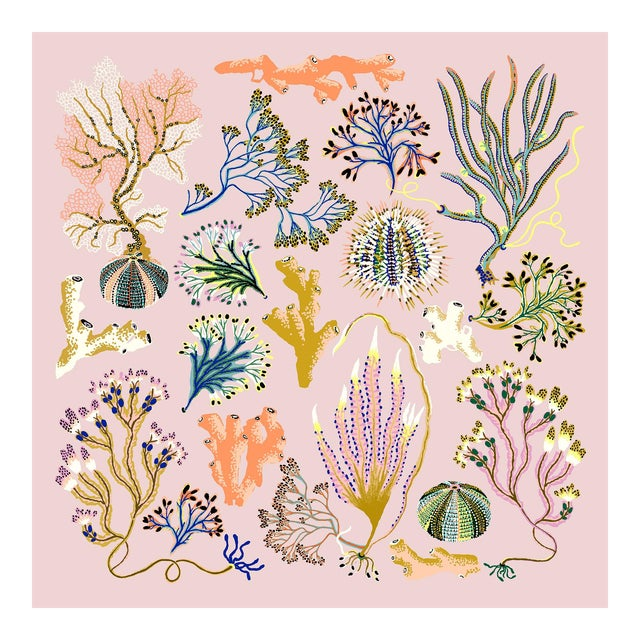 Into the Sea Forest Limited Edition Giclee Print by Sarah Gordon For Sale