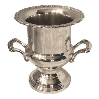 Champagne Holder Oneida Silver Plated / Ice Bucket / Wine Chiller /Urn For Sale