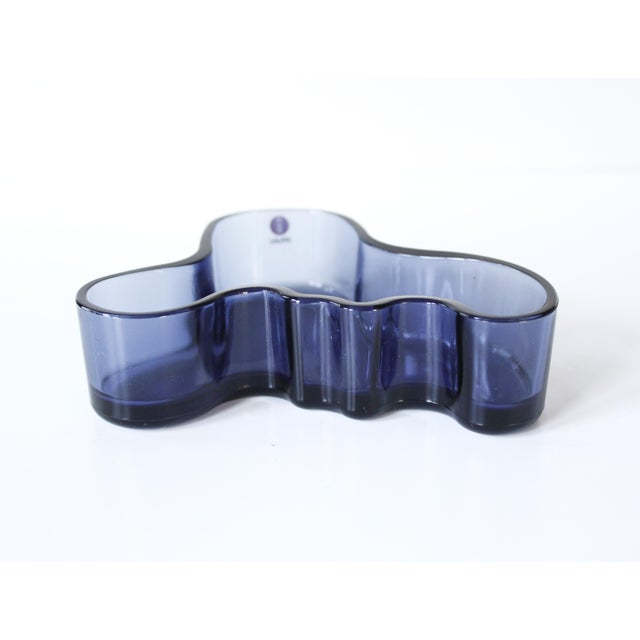 Iittala Alvar Aalto Savoy Glass Dish / Candle Holder - Image 3 of 6