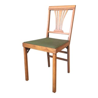 Leg-O-Matic Folding Chair For Sale
