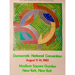 Frank Stella, Democratic National Convention Poster, August 11-14 1980 For Sale