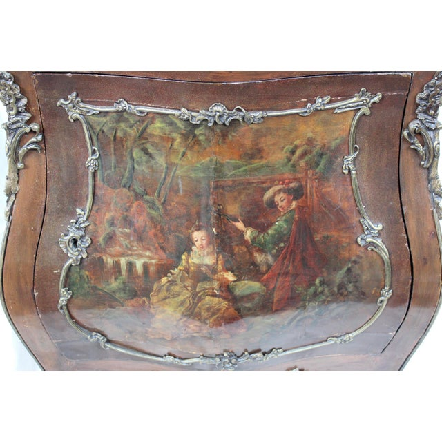 """Louis XV Style """"Vernis Martin"""" Cabinet - Image 3 of 10"""